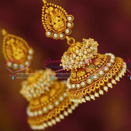 temple-jewellery-earrings-white-gold-plated-pearl-designed-earrings