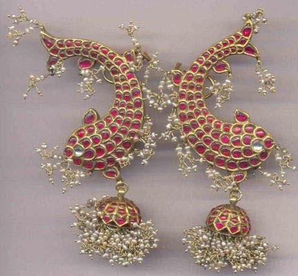 temple-jewelry-jhumka-lovely-fish-on-the-jhumka