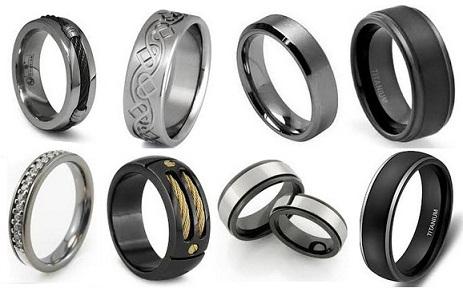9 Latest Titanium Rings for Men and Women