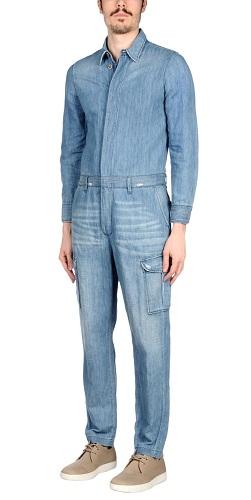 Men's Denim Jumpsuit
