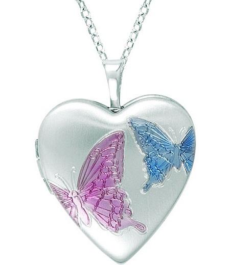 Casual wear heart necklace