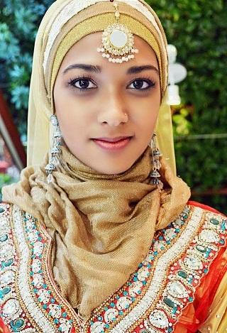 Festive hijab Designs