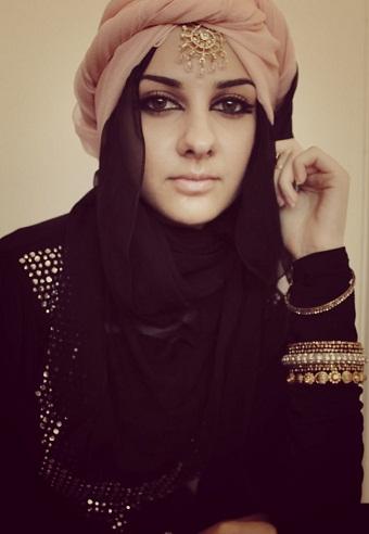 Chic Royal Arabic hijab