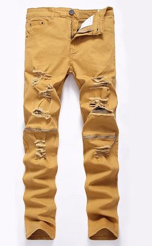 Designer Khaki Jeans