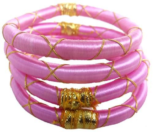 Designer Pink Bangles