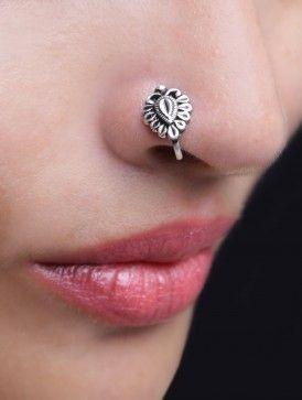 Ethnic Pressing Nose Pin