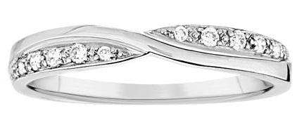 White Gold Wedding Band Ring