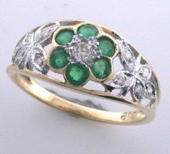antique-emerald-ring