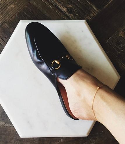Delicate Gold Plated Anklet for Men