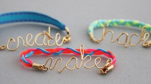 Tri Friendship Bracelet