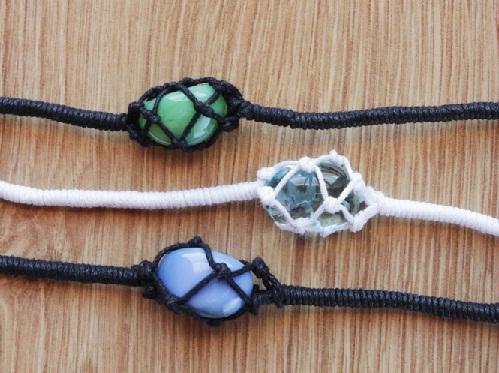 The Stone Netted Bracelet