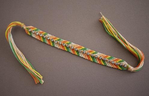 The Flag Coloured Bracelet