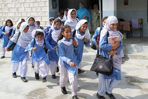 School Girls Hijab