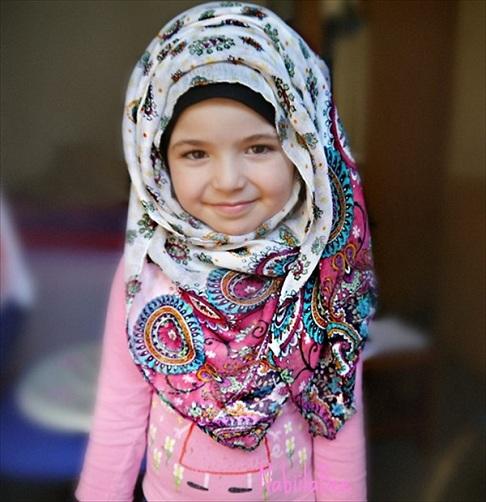 Kiddy Hijab Style