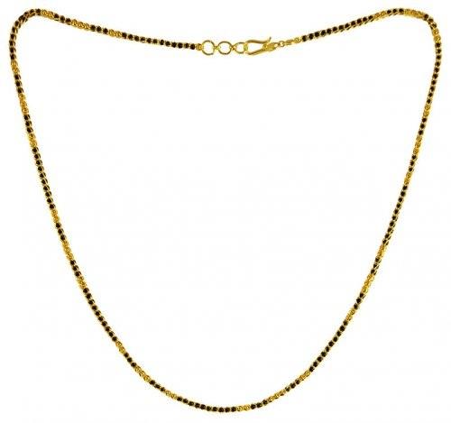 Small black bead Mangalsutra