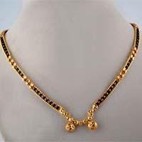 Karugamani chain Gold Platted Mangalsutra