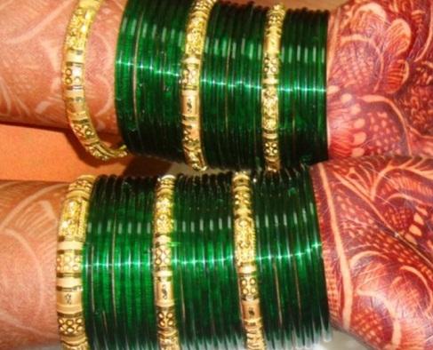 Marathi Bridal Bangle Sets