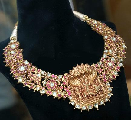 polki-temple-necklace