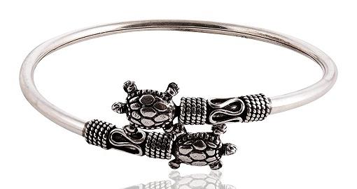 Tribal Silver Bracelet Bangle