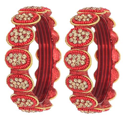 Kada Style Glass Bangle