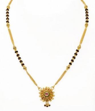 Small Antique Mangalsutra Design