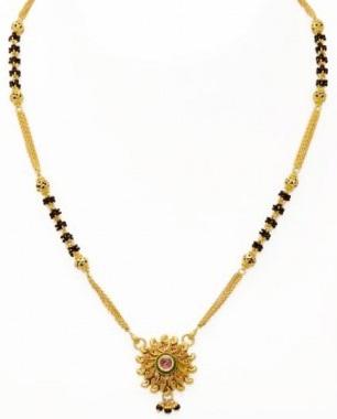 kundan-style-pendant-thick-chain-mangalsutra-1