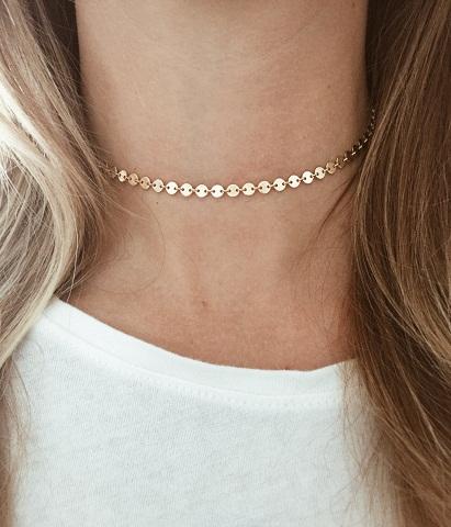 Studded Choker Necklace