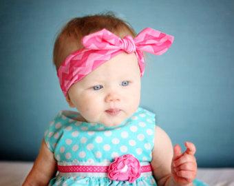 Knotted Baby Headband