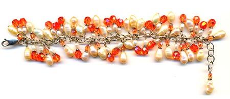 Cluster beads bracelet