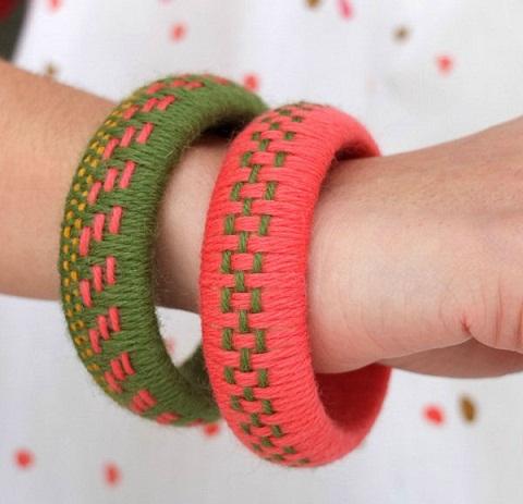 how to make handmade bangles -2