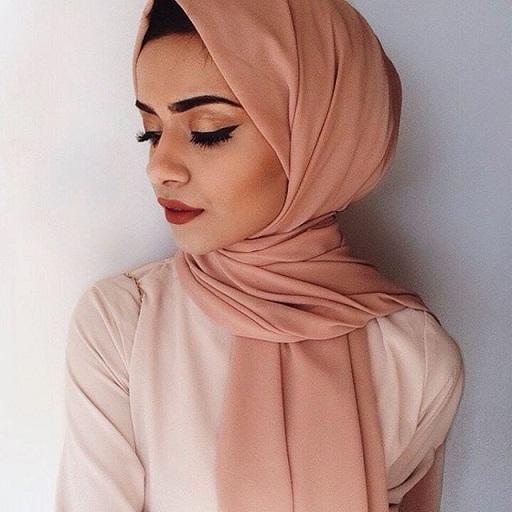 Simple Scarf Like Hijab