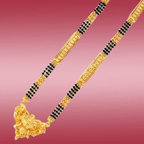 Simple long mangalsutra