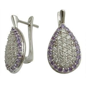 teardrop-silver-earrings