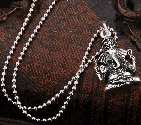 Religious Silver Necklace