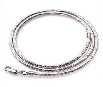 White Gold Snake Chain