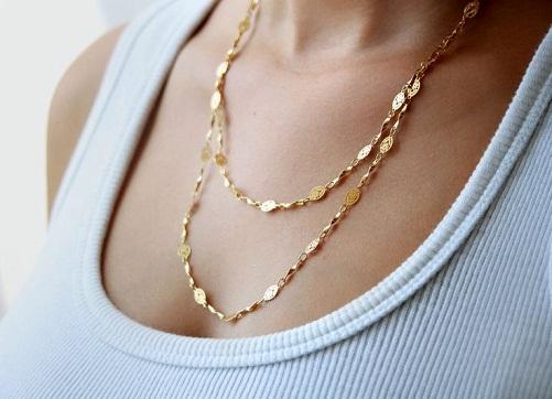 24k Modern Gold Chain