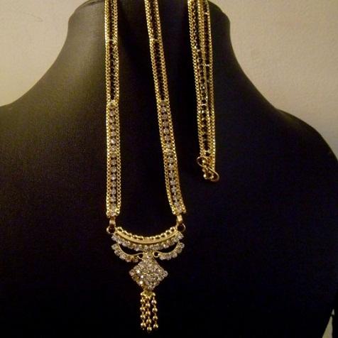 Fancy mangalsutra necklace