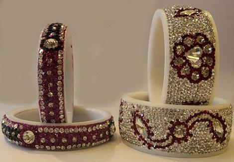designer-crystal-plastic-bangles