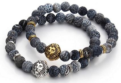 lion-headed-plastic-bracelets