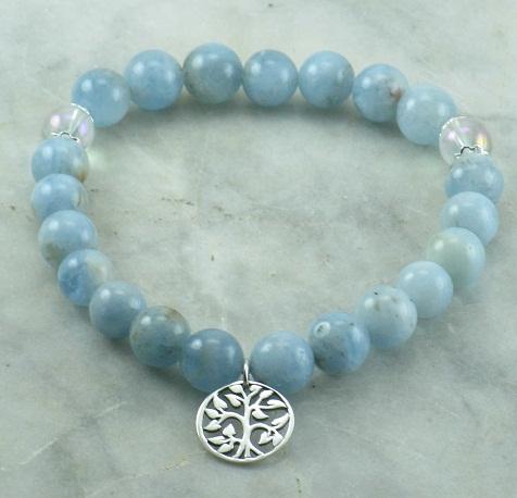Aquamarine Gemstone Beads