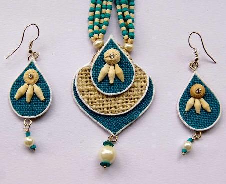 jute-jewellery-designs-handmade-jute-chain-set
