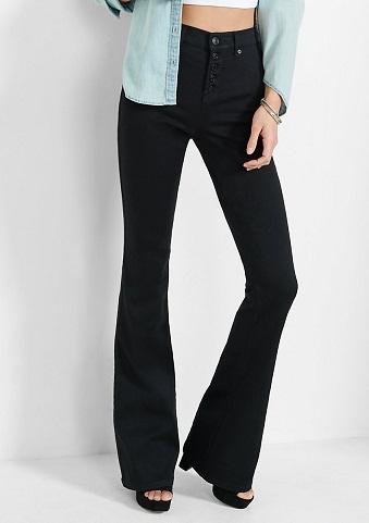 Eye Popping Flare Jeans for Girls