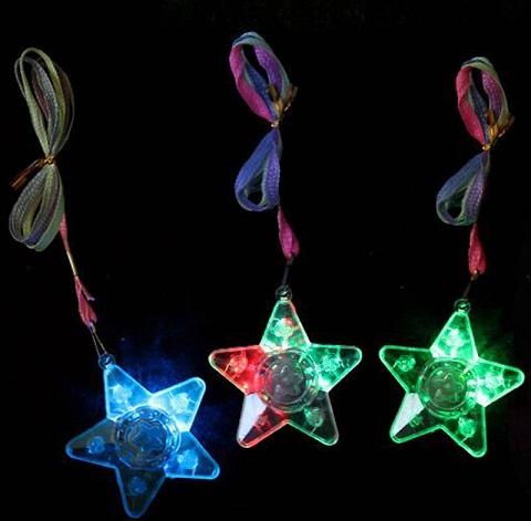 LED Star Pendant Chain