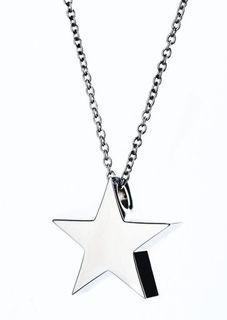 Plain Metal Star Pendant